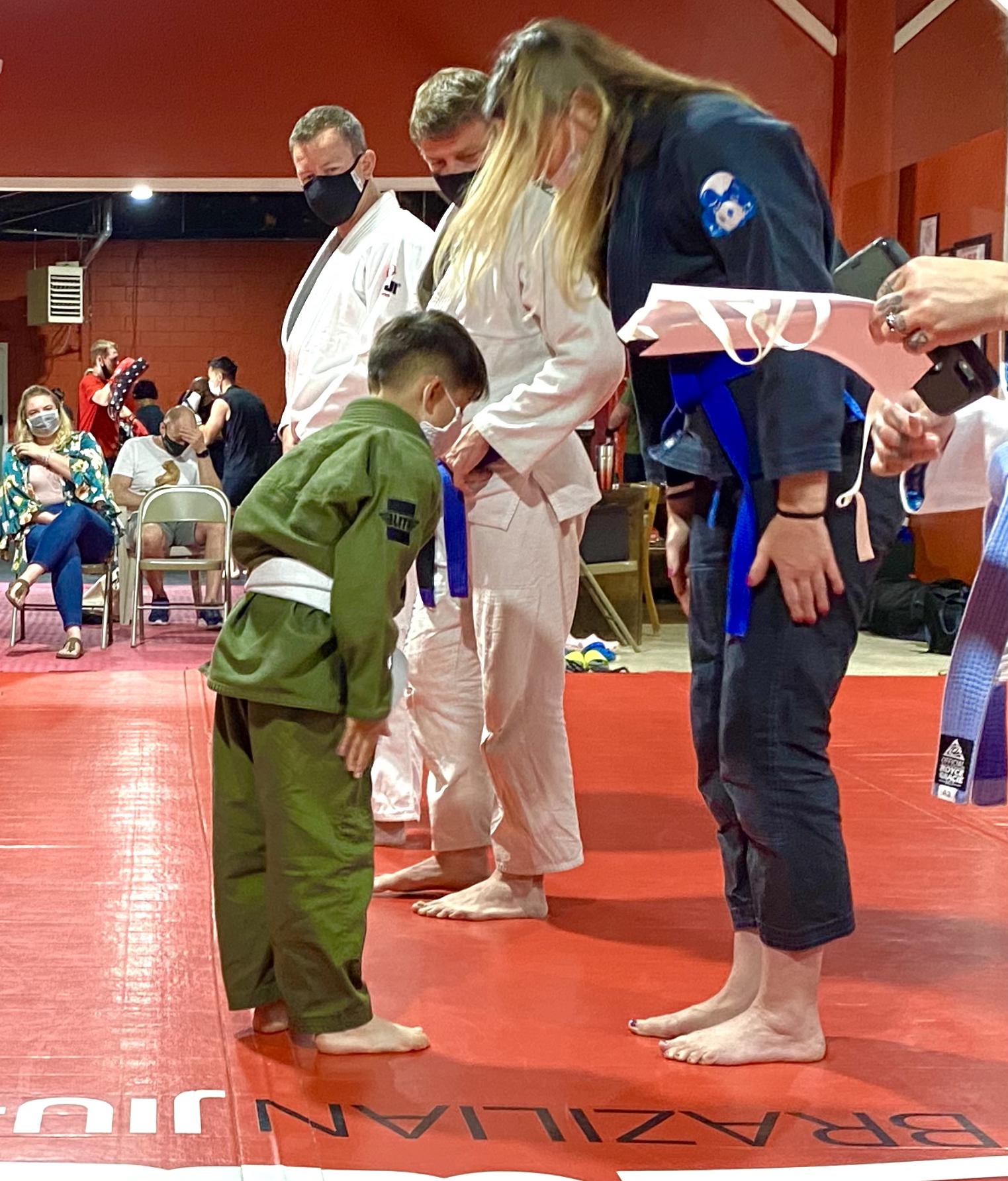 Kids Brazilian Jiu-Jitsu Class