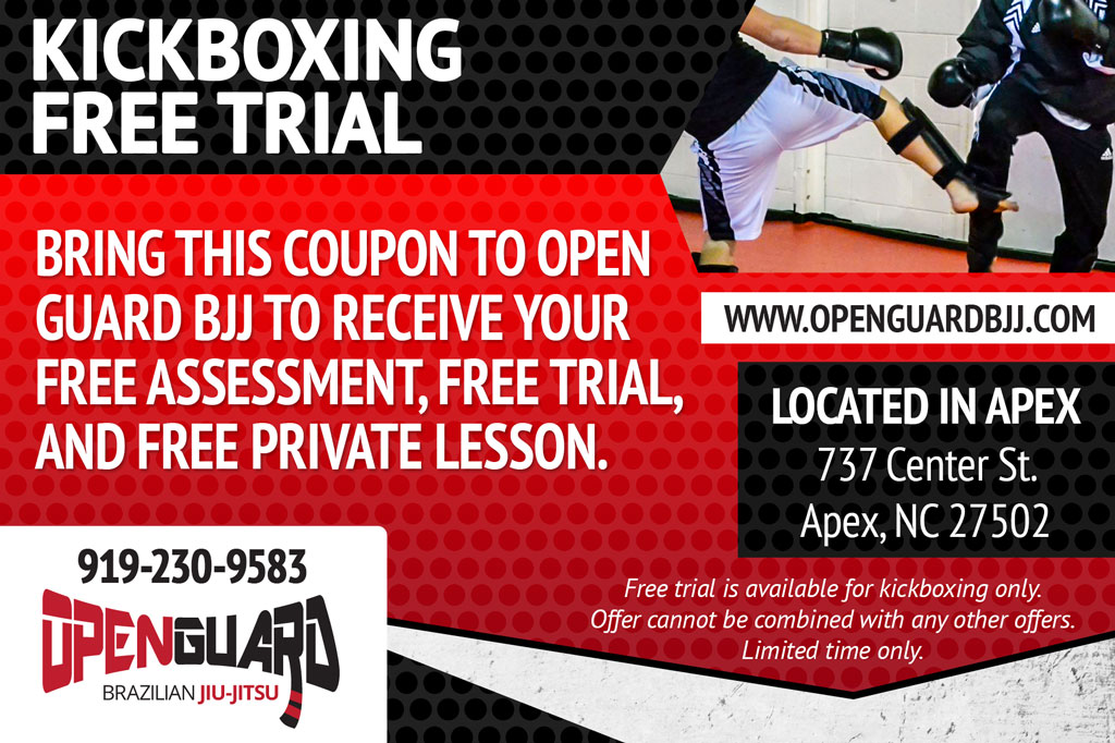 Kickboxing Free Trial Coupon