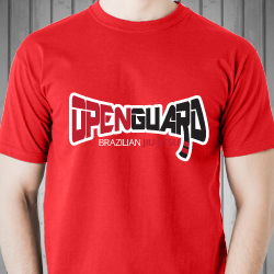 Open Guard BJJ t-shirt