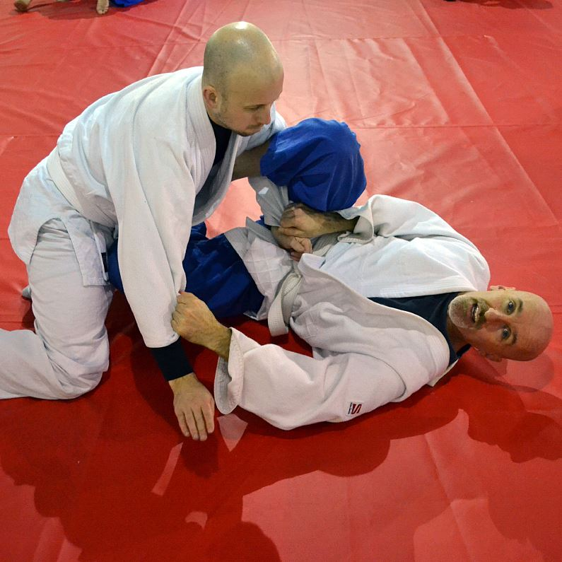 beginners bjj training